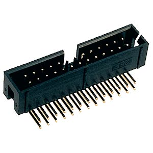 Box connector, 6-pin, angled FREI