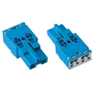 WINSTA® MIDI, two-pin plug, without strain-relief housing WAGO 770-1112