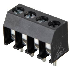 4-pin terminal strip, spacing 3.5 RIA CONNECT 31059104
