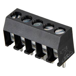 5-pin terminal strip, spacing 3.5 RIA CONNECT 31059105