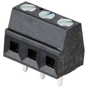 Anschlussklemme, 3-pol, Ø 1,5 mm, RM 3,81 RIA CONNECT 31086103