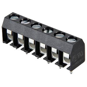 6-pin terminal strip, spacing 5.08 RIA CONNECT 31101106