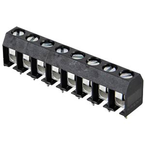 8-pin terminal strip, spacing 5.08 RIA CONNECT 31101108