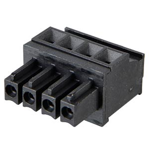 Steckbare Anschlussklemme 4-polig, RM3,81mm RIA CONNECT 31113104