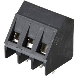 3-pin connection terminal, spacing 5 mm, lift, 35° RIA CONNECT 31205103