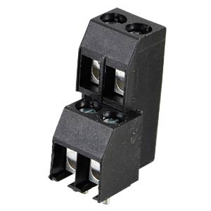 Two-tier terminal, 4-pin, spacing 3.5 RIA CONNECT 31267104