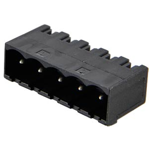 Box header for AKL 349, 5-pin, RM 5.0 RIA CONNECT 31320105
