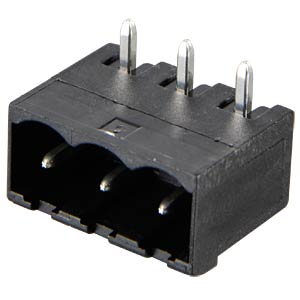 Box header for AKL 349, 3-pin, RM 5.0 RIA CONNECT 31330103