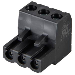 Terminal system 3-pin, RM 5.0 RIA CONNECT 31349103