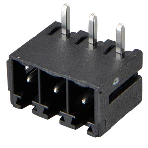 Box header for AKL 369, 3-pin, RM 3.81 RIA CONNECT 31382103