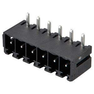 Box header for AKL 369, 6-pin, RM 3.81 RIA CONNECT 31382106