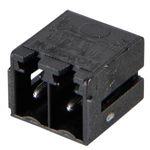 Box header for AKL 369, 2-pin, RM 3.81 RIA CONNECT 31383102