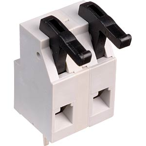 Spring clamp terminal block, 5-pole, RM 7.5 mm RIA CONNECT AST0270504