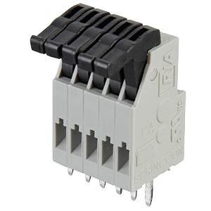 5-pin spring loaded terminal, 2.5-mm pin spacing RIA CONNECT AST0210504