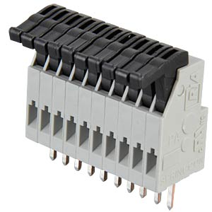 Spring-loaded terminal, 10-pole, RM 2.5 mm RIA CONNECT AST0211004
