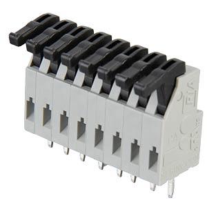 Federkraftklemme 8-polig, RM3,81mm RIA CONNECT AST0240804
