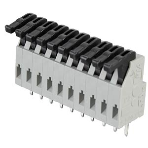 10-pin spring loaded terminal, 3.81-mm pin spacing RIA CONNECT AST0241004