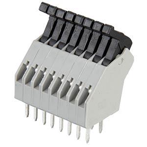 Federkraftklemme, 8-pol, Ø 0,08 - 0,5 mm, RM 2,5 RIA CONNECT AST0410804