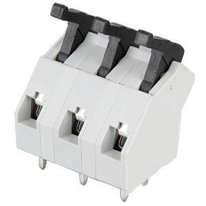 Federkraftklemme 3-polig, RM7,5mm, 45° RIA CONNECT AST0470304