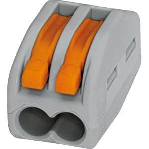 Verbindungsdosenklemme, 2-fach 0,08-4,0mm² WAGO 222-412