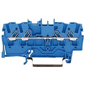4-Leiter-Durchgangsklemme 24A 0,25-2,5mm² bl WAGO 2002-1404