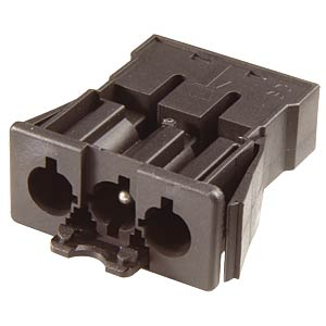 3-pin female connector, spring contact WIELAND 92.31.9658.1