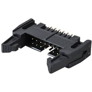 Pin connector, 14-pin, with interlock, straight FREI