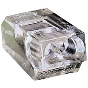 2-way plug-in terminal for connection boxes, transparent, 2.5 mm WAGO 273-252