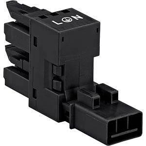 WINSTA® MINI, h-Verteiler 1 x Stecker / 2 x Bu WAGO 890-636