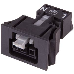 WINSTA® MINI, 3-pin female connector, snap-in WAGO 890-703