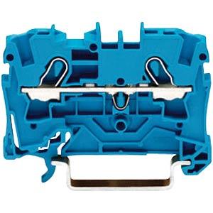 2-conductor feed-through terminal, 32 A 0.5 - 4.0 mm² blue WAGO 2004-1204
