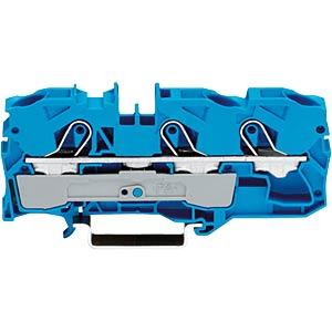 3-conductor feed-through terminal, 57 A 0.5 - 10.0 mm² blue WAGO 2010-1304