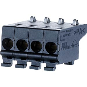 Federkraftklemme, steckbar, 4-pol, RM 5,00 RIA CONNECT SC30504HBNN