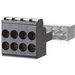 Federkraftklemme, steckbar, 4-pol, RM 5,00 RIA CONNECT SP99504VBNC