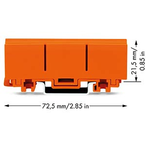 Befestigungsadapter Serie 2273 WAGO 2273-0500