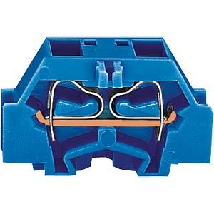 4-Leiter-Klemme mit Flansch, bis 2,5mm², bl WAGO 261-334