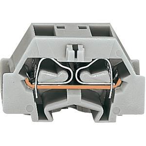 4-Leiter-Klemme mit Flansch, bis 2,5mm², or WAGO 261-336