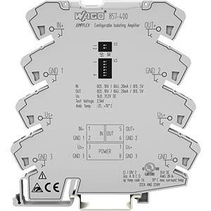 Trennverstärker, konf.bar + Zero-/Span-Abgleich WAGO 857-400