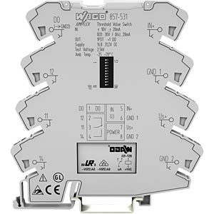Limit value switch, analogue ON and changer OFF WAGO 857-531