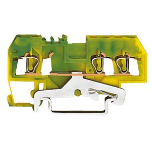3-conductor feed-through terminal, green/yellow WAGO 280-687