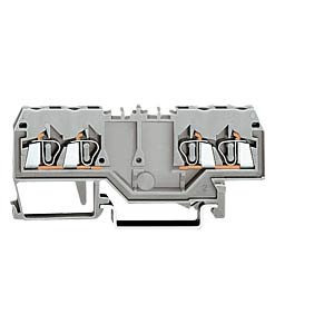4-conductor feed-through terminal, grey WAGO 280-826