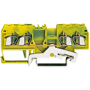 4-conductor feed-through terminal, green/yellow WAGO 280-837