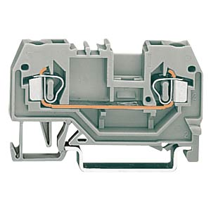 2-conductor feed-through terminal, grey WAGO 280-901