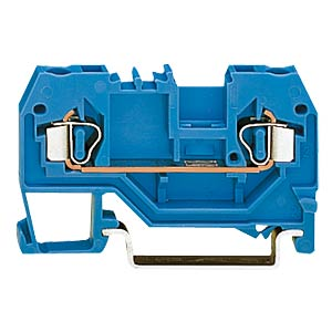 2-conductor feed-through terminal, blue WAGO 280-904