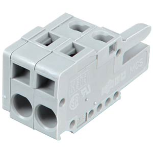 Female multipoint connector, 2-pin, RM 5.0 mm WAGO 231-102/026-000