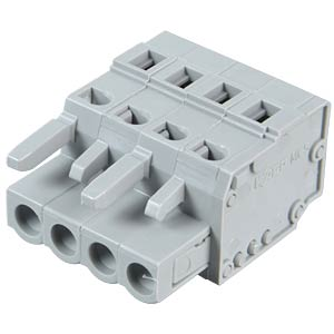 Female multipoint connector, 4-pin, RM 5.0 mm WAGO 231-104/026-000