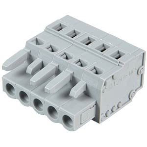 Female multipoint connector, 5-pin, RM 5.0 mm WAGO 231-105/026-000
