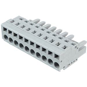 Female multipoint connector, 10-pin, RM 5.0 mm WAGO 231-110/026-000