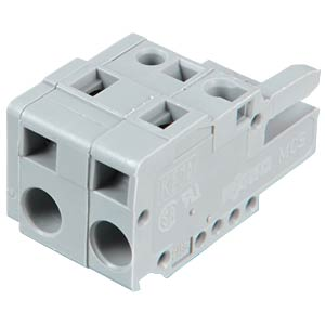 Female multipoint connector, 2-pin, RM 7.5 mm WAGO 231-202/026-000