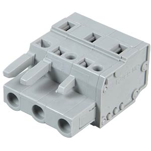 Female multipoint connector, 3-pin, RM 7.5 mm WAGO 231-203/026-000